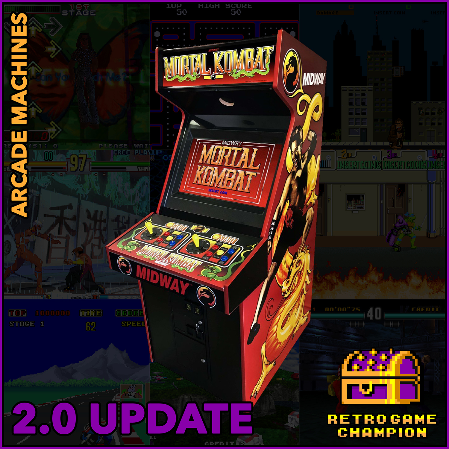 Arcade Machines Champion Collection 2 0 Free Download Borrow And Streaming Internet Archive